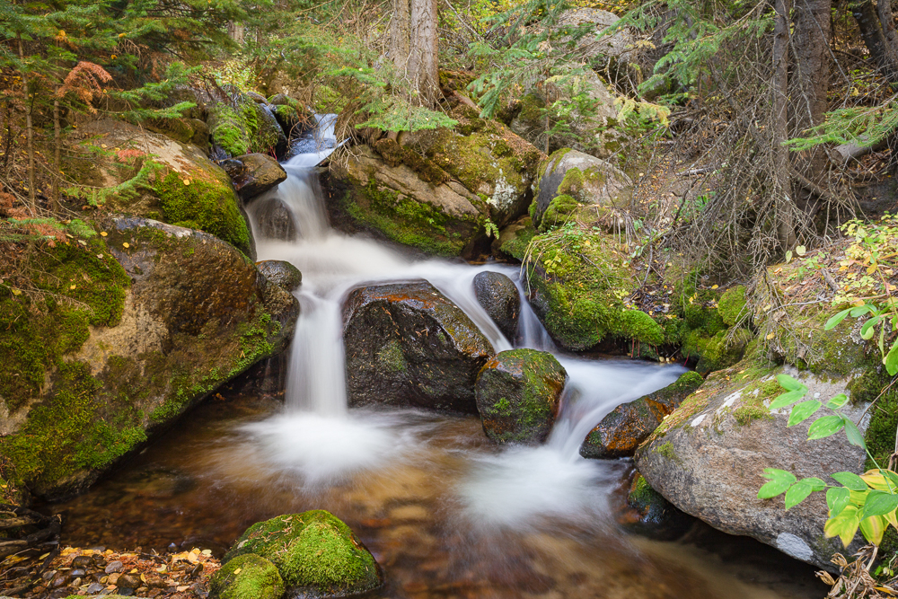 Waterfalls, Cascades, Destination Photography Workshop, Colorado, Rocky Mountain National Park