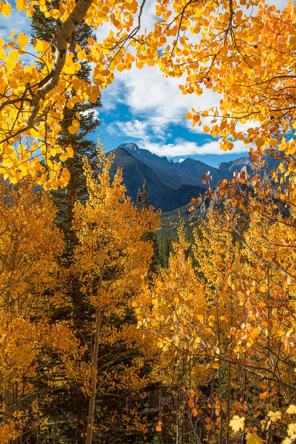 Aspen, Colorado, Rocky Mountain National Park